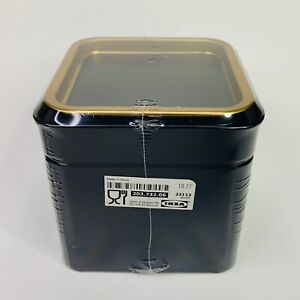 IKEA Blomning Coffe/Tea Canister 203.732.06 Size 4x4x4