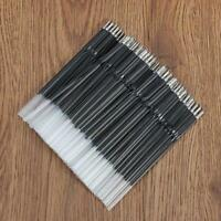 100Pcs 0.7mm Black Ink Retractable Pen Refills Ballpoint Pen Refill Stationery&L
