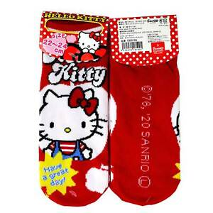 Ladies Ankle Socks Hello Kitty Sanrio Official Japanese Import