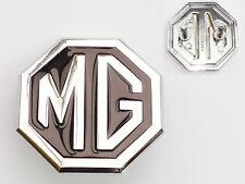 MGB MGBGT & MG Midget Black & Chrome Front Grill Badge, MG CHA544, British Made