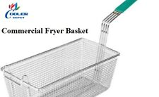 New Commercial Fryer Basket 40lbs Model Spare Part Basket Only 13 X 7 X 6