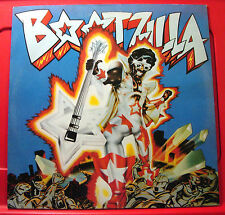 """Bootsy's Rubber Band Bootzilla 12"""" PC UK ORIG'78 Warners Hollywood Squares VINYL"""