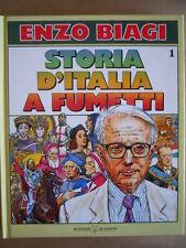 Storia d' Italia a Fumetti Biagi Vol.1 - Disegni Piffarerio & Rostagno  [G508]