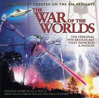 H.G. Wells CD The War Of The Worlds - Germany (M/M)