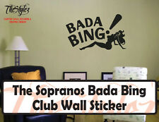 The Sopranos Bada Bing Club Custom Wall Vinyl Sticker