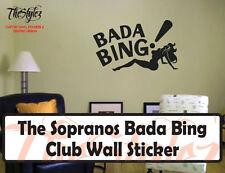 The Sopranos Bada Bing Club Custom Wall Vinyl Sticker
