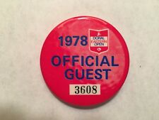 Pro Golfer Jerry McGee's 1978 Doral-Eastern Open Official Guest Entry Badge