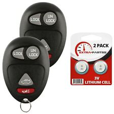 2 For 2001 2002 2003 2004 2005 Pontiac Aztek Car Remote Keyless Entry Key Fob