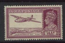 India 1940 SG#277 14a Purple KGVI MNH #A104