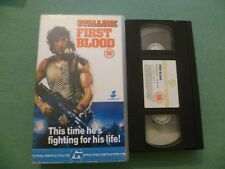 FIRST BLOOD STALLONE,THIS TIME HE'S FIGHTING FOR HIS LIFE ,GUILD HOME VIDEO