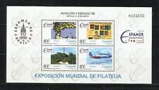 """ESPAÑA. Año: 1996. Tema: """"AVIACION Y ESPACIO-96""""."""