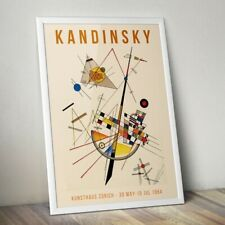 Kandinsky Art Print, Kandinsky Poster, Exhibition Poster, Home Decor