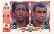 128 FRANK SCHOEMAN - DELRON BUCKLEY # SOUTH AFRICA CARD WORLD CUP 2002 REYAUCA