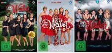 9 DVDs * VORSTADTWEIBER - STAFFEL 1 + 2 + 3 IM SET # NEU OVP %