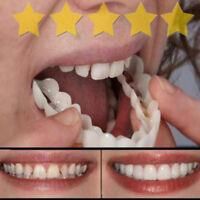Whitening Teeth Snap Cap On Instant Comfortable Flex Perfect Smile Veneers D8C