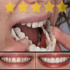 Smile Whitening Teeth Snap Cap On Instant Comfortable Flex Perfect Veneers A33