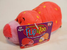 "Little 5"" FLIPZEES Flipazoo Stuffed Animal Strawberry Seal Orange Peel Penguin"