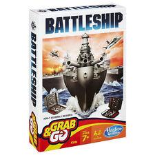 Hasbro Battleship Grab & and Go Travel Game B0995 Board Games Battle Ship