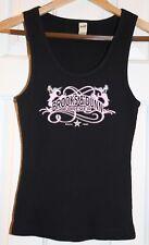 Women's Brooks & Dunn Vintage Concert Black Forever Sleeveless L Large Tee Tank