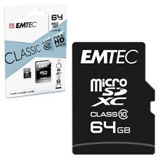 Tarjeta de memoria de EMTEC Classic micro SD mapa SDHC class 10 - 8gb 16gb 32gb 64gb