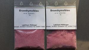 Bromthymolblau 5g BTB in PE-Beutel