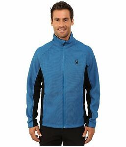 Spyder Constant Full Zip Stryke Fleece Sweater Jacket, Men's Size M, NWT