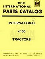 International 4100 Tractor Parts Catalog Manual TC-116