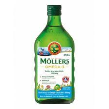 MÖLLER'S Omega-3 Huile de Foie de Morue Liquide Arôme Naturel Tutti Frutti 250ml