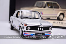 AUTOart 1:18 BMW 2002 TURBO 1973 Silver