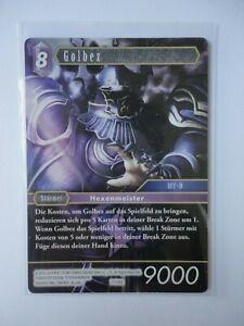 Final Fantasy tcg OPUS VII - Golbez 7-138S - Starter Set Karte
