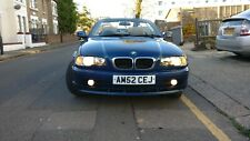 2002 BMW 3 SERIES BLUE CONVERTIBLE 318 Ci 2.0 - MANUAL