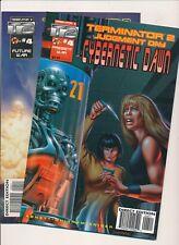 Malibu Comics T2 Terminator Cybenetic Dawn & Nuclear Twilight #4 ~ NM (PF103)