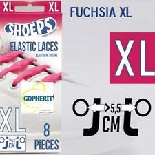 Fuchsia Shoeps XL Schoenveters 8 stuks