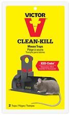 Victor 2pk Clean Kill Mouse Trap M162S