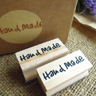 Handmade Soap Wood Stamp Mold Chapter DIY Wooden Hand Made Pattern StFZ