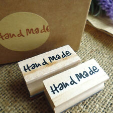Handmade Soap Wood Stamp Mold Chapter DIY Wooden Hand Made Pattern Sta.QA