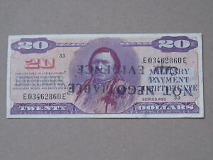 20 Dollars MPC 692  (See Photos)