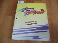 1996 Arctic Cat Tigershark Watercraft Monte Carlo 900 Service Manual