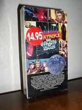 Star Trek II: The Wrath of Khan starring William Shatner, Leonard Nimoy (VHS)