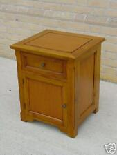 COUNTRY SIDE TABLE MAHOGANY SINGLE DRAWER SINGLE DOOR