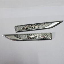 1 Pair of JCW WORKS Small Aluminum Alloy Badge Emblem Sticker john cooper mini 3