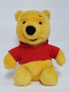 "RETIRED 1999 Winnie The Pooh CHAT PAL Talking Doll 10"" Plush Toy DISNEY Mattel"