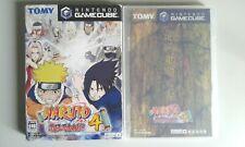 Gamecube NARUTO Gekitoh Ninja Taisen 4