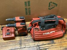 Hilti Sd 4500-A18 Cordless High Speed Drywall Screwdriver (Pair) with Batteries