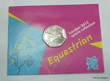 """Großbritannien,50-Pence 2012 """"London Sports Collection - Springreiten"""""""