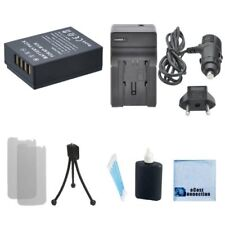 NP-W126 Battery + Car / Home Charger for Fuji HS-33EXR HS-35EXR HS-50EXR XPro1