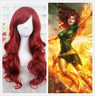 Women Hot New HE LITTLE MERMAID ARIEL Curly wave red wig cosplay wig+a wig cap