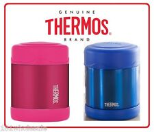 ❤ Thermos STAINLESS STEEL Vacuum Insulated Food Jar 290ml Funtainer Pink Blue ❤