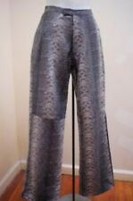 Faux Snake Skin Sz 4 Pants Black Gray Absence of Color