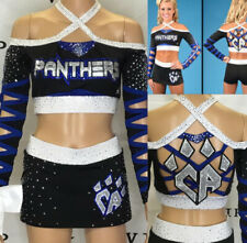 Cheerleading Uniform  Allstars CA Panthers Adult XS Rare